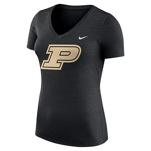 Women's Nike Purdue Boilermakers Dri-FIT Touch Tee