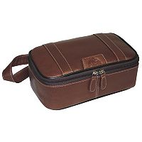 Men's DOPP Country Saddle Top-Zip Travel Kit