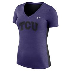 Women's Nike TCU Horned Frogs Dri-FIT Touch Tee