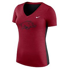 Women's Nike Arkansas Razorbacks Dri-FIT Touch Tee