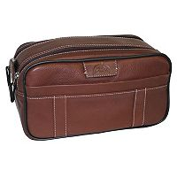 Men's DOPP Country Saddle Soft-Sided Multi-Zip Travel Kit