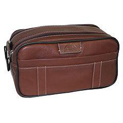 Men's DOPP Country Saddle Soft-Sided Multi-Zip Travel Kit