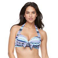 Women's Apt. 9® Tie Front Bandeau Bikini Top