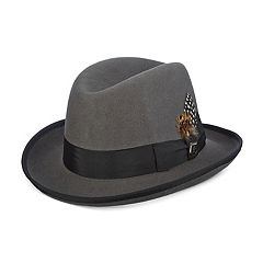 Men's Stacy Adams Wool Felt Homburg Hat