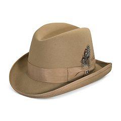 Men's Stacy Adams Wool Felt Homburg Hat