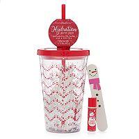 Simple Pleasures Snowman Lip Balm, Nail File & Cup Gift Set