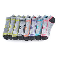 Women's Champion 6 pkCushioned No-Show Performance Socks + Plus 2 Bonus Pairs