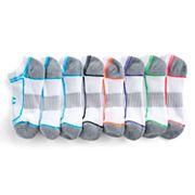 Women's Champion 6 pkCushioned No-Show Performance Socks + Plus 2 Bonus Pairs