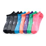 Women's Champion 6 pkMarled No-Show Performance Socks + Plus 2 Bonus Pairs