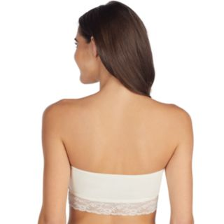 Juniors' Saint Eve Lace Trim Bandeau 5180009