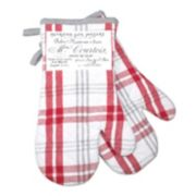 Hotel Plaid 'n Patch Oven Mitt 2-pk.