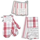 Hotel Plaid 'n Patch 6-pc. Kitchen Set