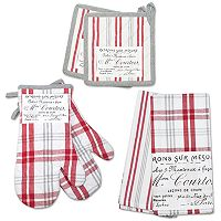 Hotel Plaid 'n Patch 6 pc Kitchen Set