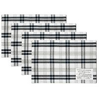 Hotel Plaid 'n Patch Placemat 4-pk.