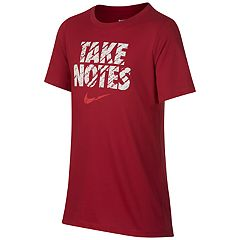 Boys 8-20 Nike Take Notes Training Tee
