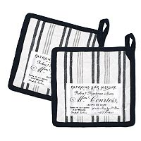 Hotel Plaid 'n Patch Pot Holder 2-pk.