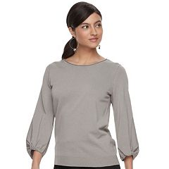 Women's Apt. 9® Twisted Crewneck Sweater