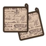 Hotel Paris 1675 Pot Holder 2-pk.