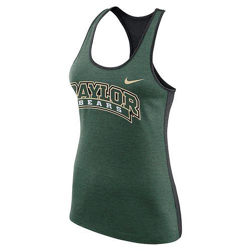 Women's Nike Baylor Bears Dri-FIT Touch Tank Top