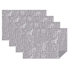 Hotel Paris 1675 Placemat Set 4-pk.