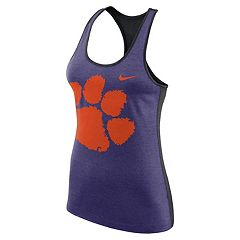 Women's Nike Clemson Tigers Dri-FIT Touch Tank Top