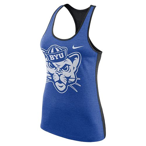 Women's Nike BYU Cougars Dri-FIT Touch Tank Top
