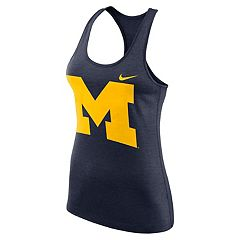 Women's Nike Michigan Wolverines Dri-FIT Touch Tank Top