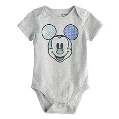 Baby Boy Mickey Mouse Bodysuit