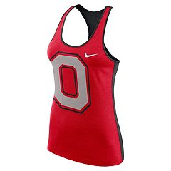 Women's Nike Ohio State Buckeyes Dri-FIT Touch Tank Top
