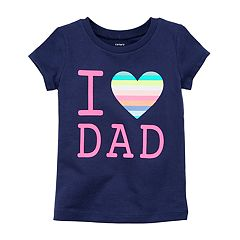 Girls 4-8 Carter's 'I Heart Dad' Graphic Tee