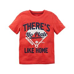 Toddler Boy Carter's 'There's No Plate Like Home' Graphic Tee