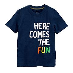 Toddler Boy Carter's 'Here Comes The Fun' Graphic Tee