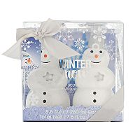 Simple Pleasures Snowman Hand Soap & Hand Lotion Set