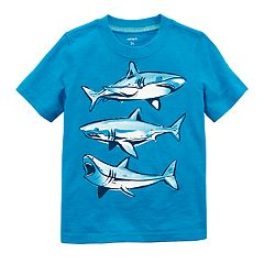 Toddler Boy Carter's Shark Trio Graphic Tee