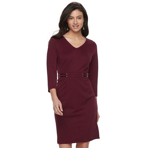 Women's Jennifer Lopez Textured Dress