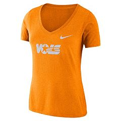 Women's Nike Tennessee Volunteers Tri-Blend Logo Tee