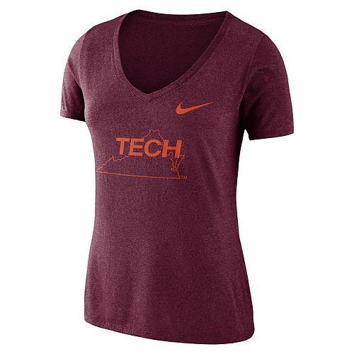 Women's Nike Virginia Tech Hokies Vault Tee