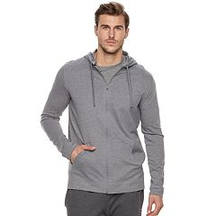 565c7ad898 Big & Tall Tek Gear™ Regular-Fit Ultrasoft Lightweight Full-Zip Hoodie