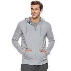 Big & Tall Tek Gear™ Regular-Fit Ultrasoft Lightweight Full-Zip Hoodie