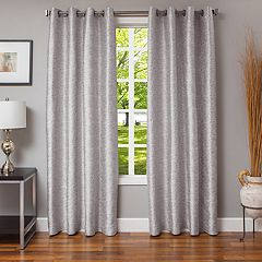 Softline 1-Panel Morena Solid Window Curtain