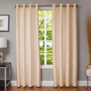 Softline 1-Panel Morena Textured Window Curtain