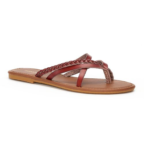 Women's SONOMA Goods for Life™ Braided Multi Strap Sandals