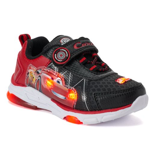 Disney / Pixar Cars Lightning McQueen Toddler Boys' Light-Up Shoes