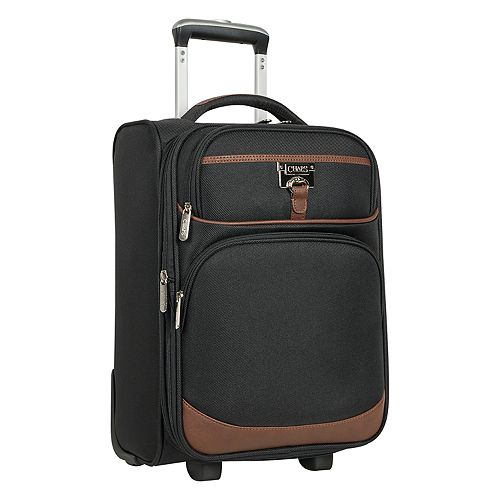 Chaps Saddle Haven 17-Inch Expandable Softside Wheeled Luggage