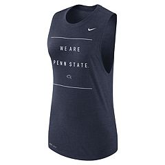 Women's Nike Penn State Nittany Lions Dri-FIT Muscle Tank Top