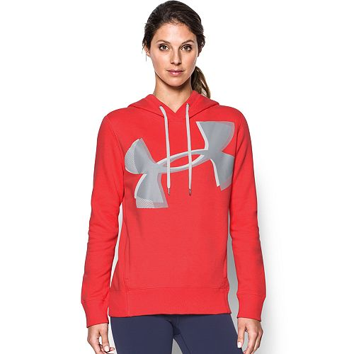3eb3a0f6 Women's Under Armour Favorite Fleece Exploded Logo Graphic Hoodie