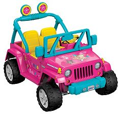 Power Wheels Barbie Jeep Wrangler
