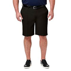 Big & Tall Haggar® Cool 18® PRO Classic-Fit Flat-Front Shorts