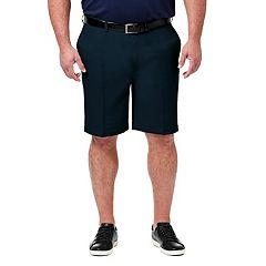 Big & Tall Haggar Haggar® Cool 18® PRO Straight-Fit Flat-Front Shorts