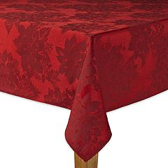 The Big One® Poinsettia Tablecloth
